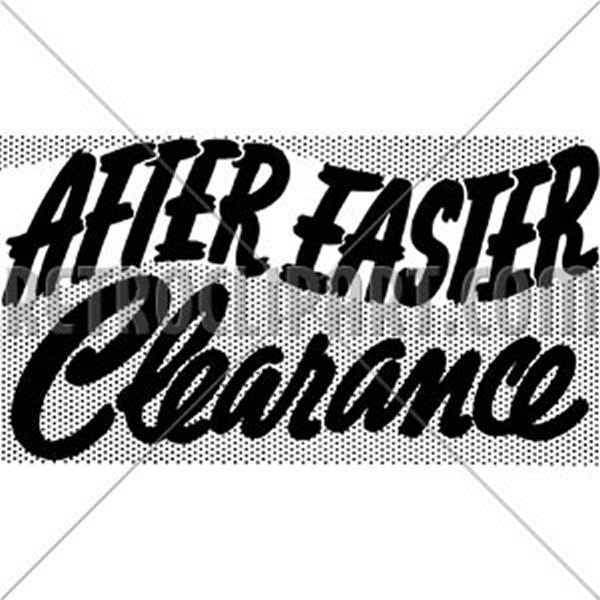 After Easter Clearance