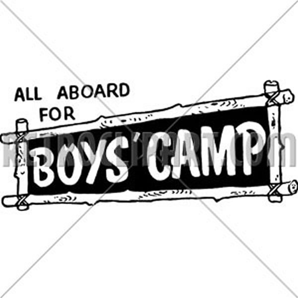 All Aboard For Boys Camp