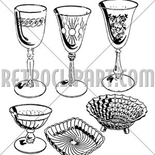 Assorted Glassware