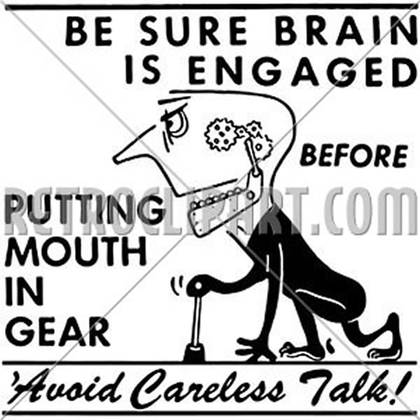 Avoid Careless Talk