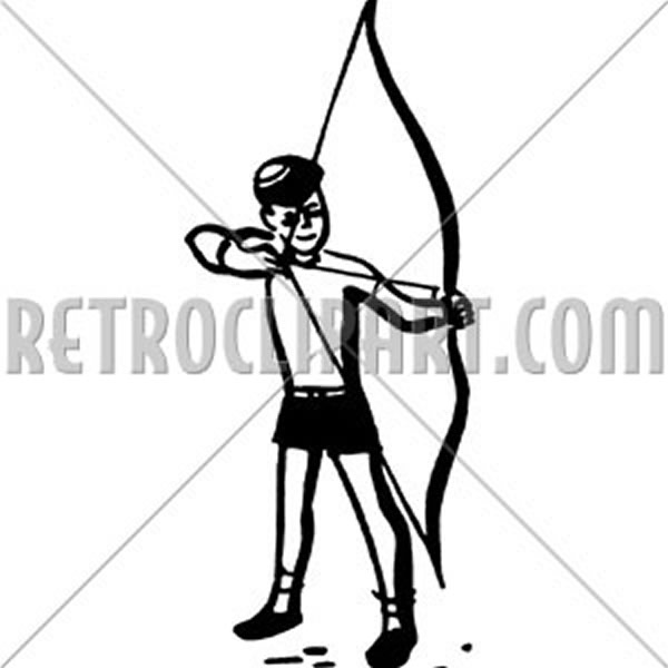 Boy With Bow And Arrow