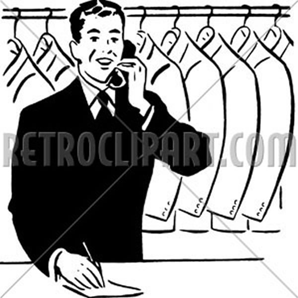 Coat Check Clerk