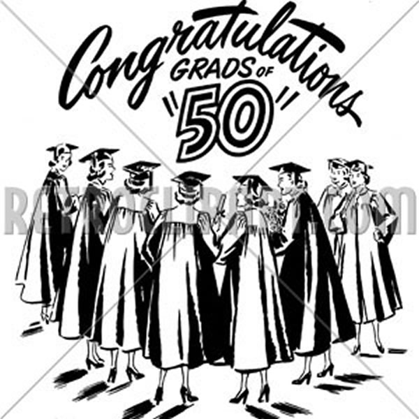 Congratulations Grads Of 50