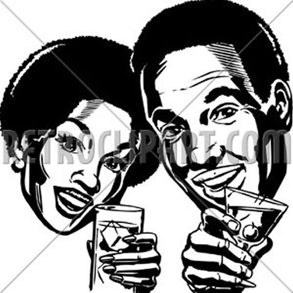 Couple With Cocktails 2