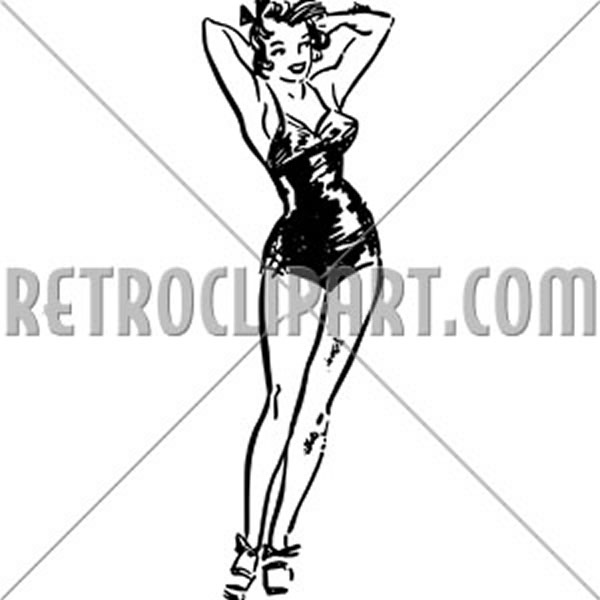 Cute Pin-Up Gal