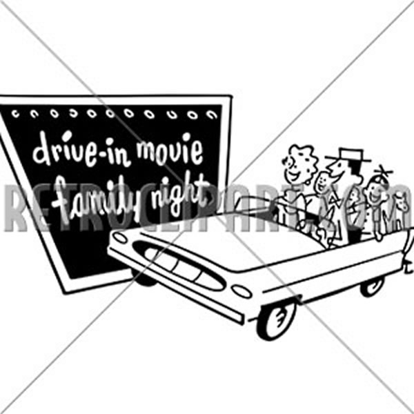 Drive-In Movie Family Night