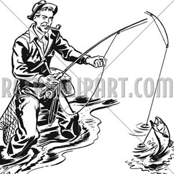 Fisherman With Pipe