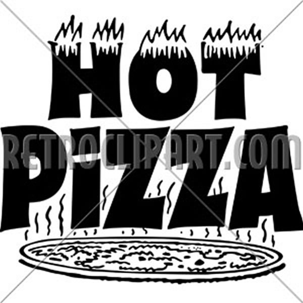 Hot Pizza Banner