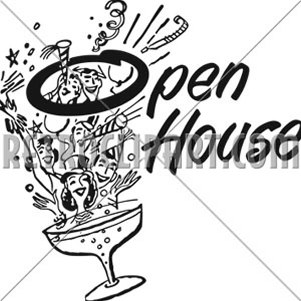 Open House Party Banner
