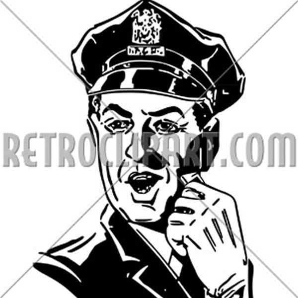 Policeman With Whistle